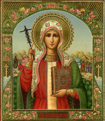Икона святой нины фото и значение